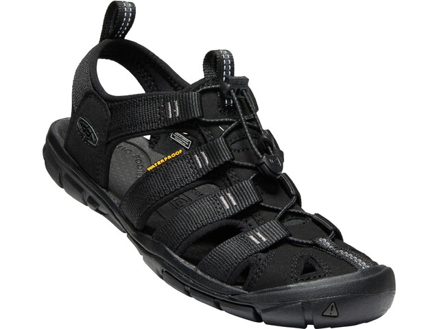 Keen Clearwater CNX Sandals Dame black/black